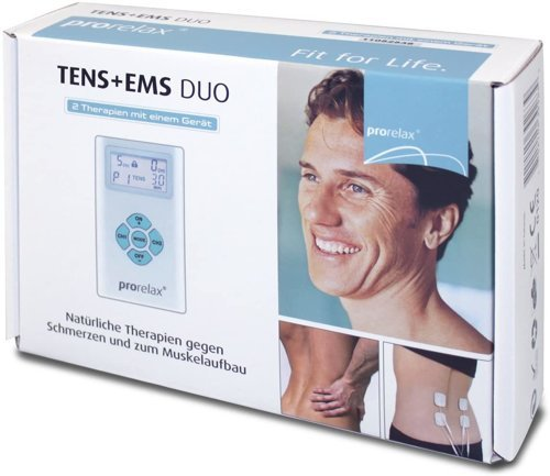 Elektrostymulator mięśni PRORELAX TENS+EMS DUO