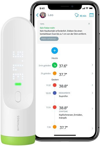 Termometr WITHINGS Thermo HotSpot Sensor